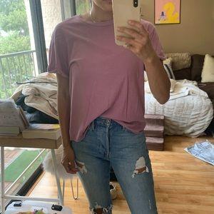 FRAME purple/pink t shirt